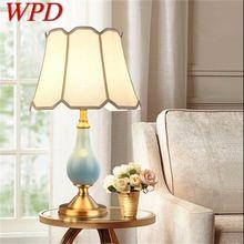 Керамические настольные лампы wpd современный роскошный светильник