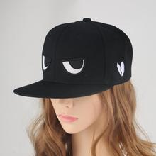 2019 Fashion Brand Caps Adjustable Black Baseball Cap Bone Eyes Embroidery Snapback Hip Hop Hat Couple Hats for Men Women Suncap все цены