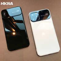 Kunststoff shell für iphone X XR XS MAX luxus fall iphone 7 8 PLUS 11 Pro MAX ultra-dünne anti-herbst abdeckung 360 ° umliegenden shell