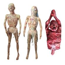 2020 Horror Halloween Decoration Creepy Zombie Ghost Scary Bloody Body Escape Haunted House Bar Props