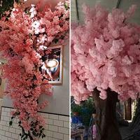 120CM Künstliche Simulation Kirschblüte Zweig Wohnzimmer Balkon Blume Reben Shop Arch Hochzeit Party Dekoration