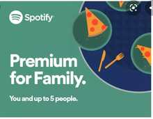 1 Year spotify Premium Family gift card Warranty different countries service lifetime Music Official Master Offline Listen(China)