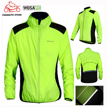 WOSAWE Cycling Motorcycle Jacket Men Waterproof Windproof Hiking Outdoor Sport Downhill Camping Coats Thin
