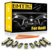 BMTxms Canbus dla Audi A3 8L 8V 8P A4 B5 B6 B7 B8 A5 8TA 8T3 A6 C5 C6 C7 A7 A8 D2 D3 światło LED do wnętrza samochodu lampka tablicy rejestracyjnej