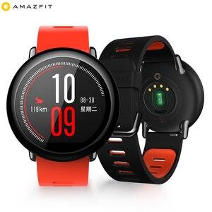 Image 5 - ساعة يد ذكية للركض رياضية أصلية من Huami Amazfit Pace مع نظام تحديد المواقع وبلوتوث 4G/WiFi وأندرويد/iOS مقاومة للماء