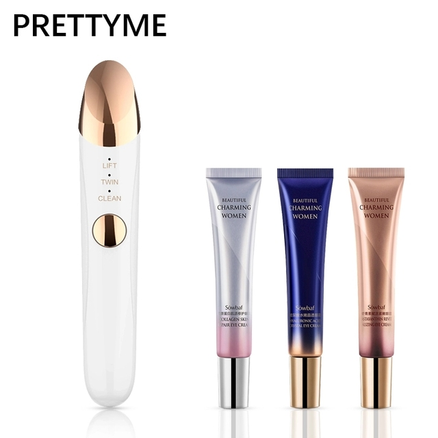 PRETTYME Electric Facial Massager Ion Repair Wrinkle Active skin Beauty Care Tool Electronics facial Skin Care tool