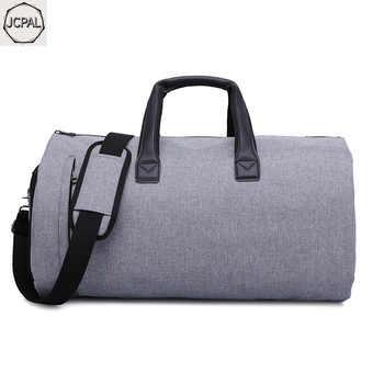 JCPAL Garment Travel Bag with Shoulder Strap Duffel Bag Carry on Hanging Suitcase Clothing Business Bag Multiple Pockets
