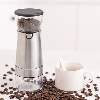 Electric Coffee Grinder Coffee Bean Mill USB Coffee Bean Grinding Pepper Grinding Machine Portable Kitchen Tools Large Cup Tea 1