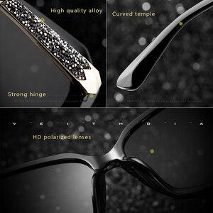 Image 2 - VEITHDIA TR90 kadın güneş gözlüğü polarize degrade Lens lüks bayan tasarımcı güneş gözlüğü gözlük kadınlar için 3161