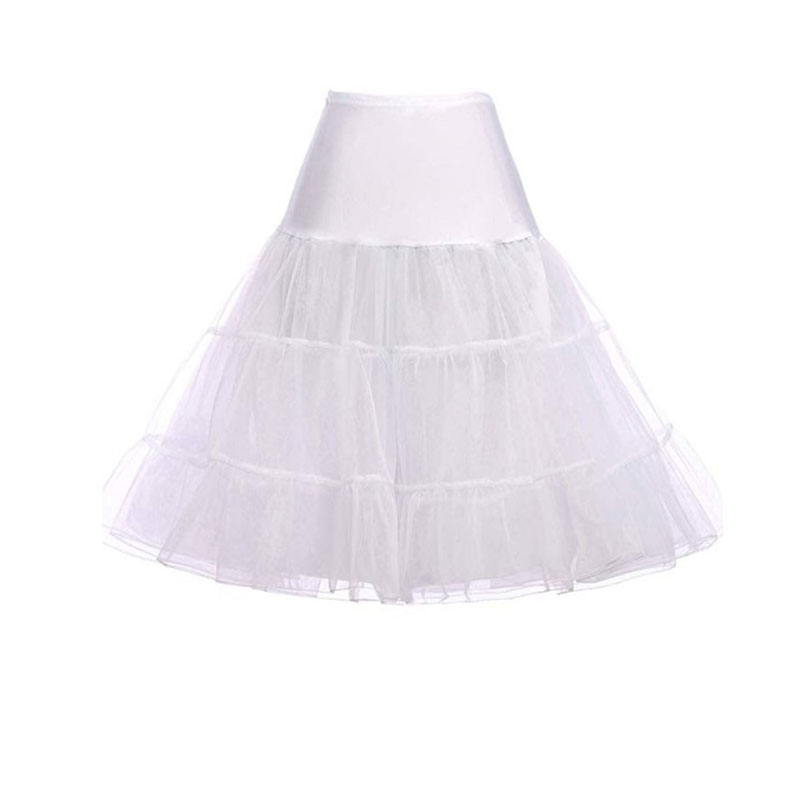 Princess Style Crystal Yarn Boneless Skirt Rock Dance Skirt Costume Ballet Skirt Wedding Skirt Pleated Skirt Petticoat