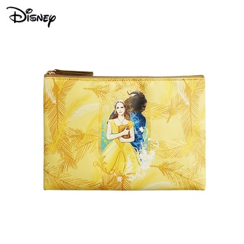Disney Genuine Beauty and the Beast Marker Highlighter Storage Bag Pen Bag Student Stationery Bag Office Storage Bag disney press beauty and the beast