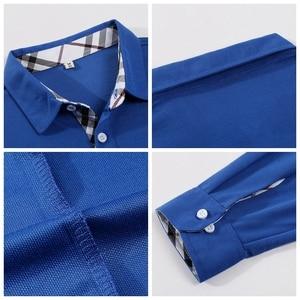 Image 3 - Plus Size Women Polo Shirt High Quality Cotton Long Sleeve Shirt Autumn Female Breathable Sweatshirt Activity Suit Customization