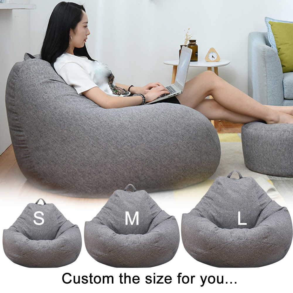Admirable Waterproof Lazy Beanbag Sofas Inner Lining Suitable For Machost Co Dining Chair Design Ideas Machostcouk