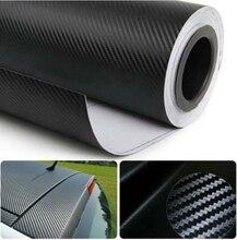 Adesivo de fibra de carbono para carro, película vinil 3d para renault clio volvo v60 bmw e61 x3 e83 polo 6r mercedes w203 kia rio