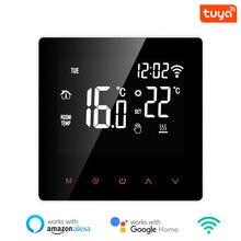 3a/16a wifi termostato inteligente piso elétrico aquecimento de água/caldeira a gás controle remoto temperatura para casa do google, alexa