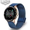 Смарт-часы LIGE для фитнеса  водонепроницаемые Смарт-часы для здоровья  пульсометр  измеритель артериального давления  шагомер для Android  ios  сп...