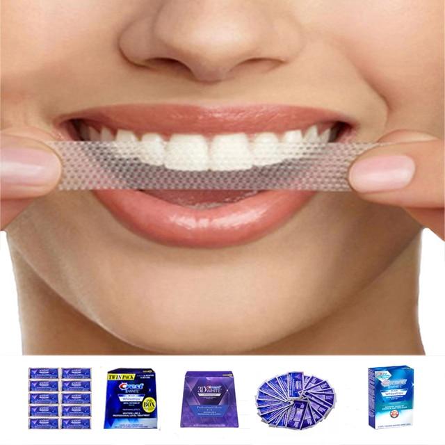 3D White Whitestrips Luxe Professional Effects Oral Hygiene Original Glamorous White Strips Teeth Whitening Strips Dental Whiten