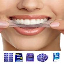 3D beyaz Whitestrips Luxe profesyonel etkileri ağız hijyeni orijinal göz alıcı beyaz şeritler diş beyazlatma şeritler diş beyazlatma