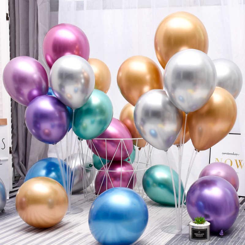 1 مجموعة 7 أنابيب بالون حامل حامل بالون العمود بالونات ورقية الذكرى عيد ميلاد ديكور حفلات الزواج ديكور لوازم