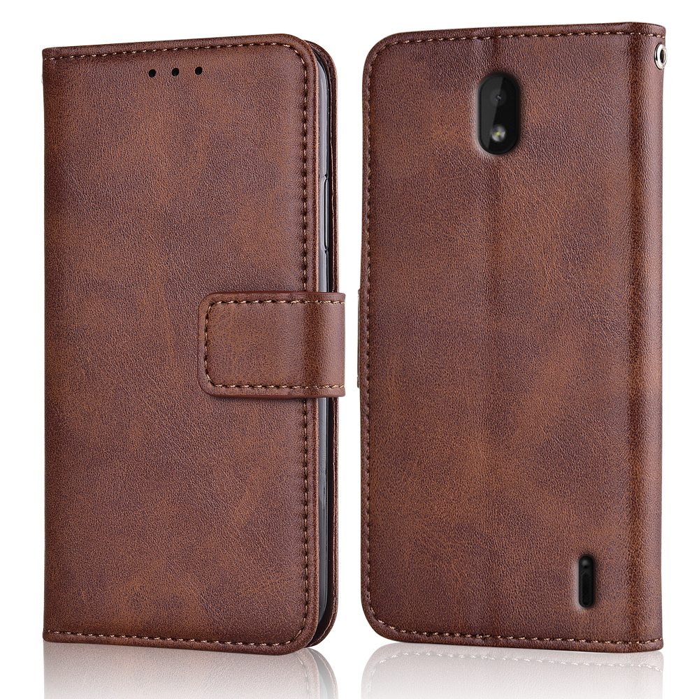 Slim Flip Leather Cover for On <font><b>Nokia</b></font> 1 Plus 5.45'' Case Wallet Magnetic Case for <font><b>Nokia</b></font> 1 Plus 1Plus <font><b>TA</b></font>-<font><b>1130</b></font> <font><b>TA</b></font>-111 Back Cover image