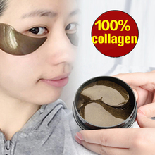 Black Pearl Gold Aquagel Collagen Eye Mask Sleep Mask Eye Patches Dark Circles Mask Facial To Face Skin Care Anti Wrinkle 60pcs pearl mask