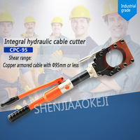 1PC Hydraulic Cable Cutter Hydraulic Crimping Tool CPC 95 Overall Cable Scissors Fast Copper Armored Cable Clamp Bolt Cutter