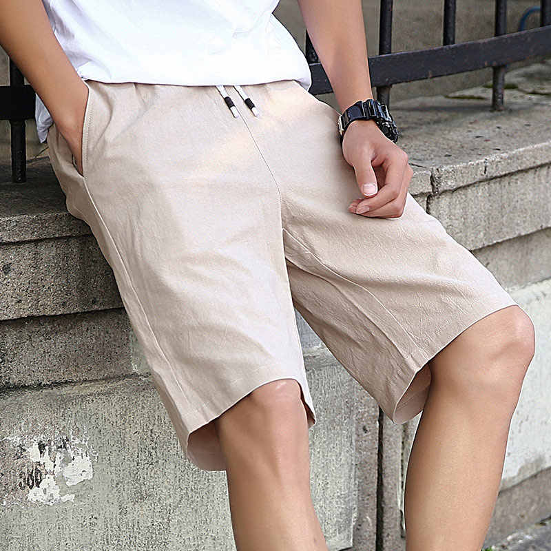 Novedosos pantalones cortos informales de verano para hombre, pantalones cortos de estilo a la moda para hombre, Bermudas de playa, pantalones cortos transpirables para playa, pantalones de chándal para hombre NbaW23