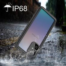 שחייה IP68 עמיד למים מקרה עבור סמסונג הערה 20 20 Ultra מקרה זרוק הוכחה כיסוי עבור Samsung S20 S20 Ultra s10 S10 בתוספת מעטפת