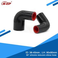 Hose Elbow Reducer Silicone Turbine-In Subaru Wrx Joiner Rubber Cold-Air-Intake Degrees