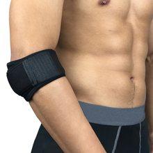 Chegada ajustável tennis cotovelo apoio guarda pads golfista cinta cotovelo dor lateral síndrome epicondylite cinta 1 pçs