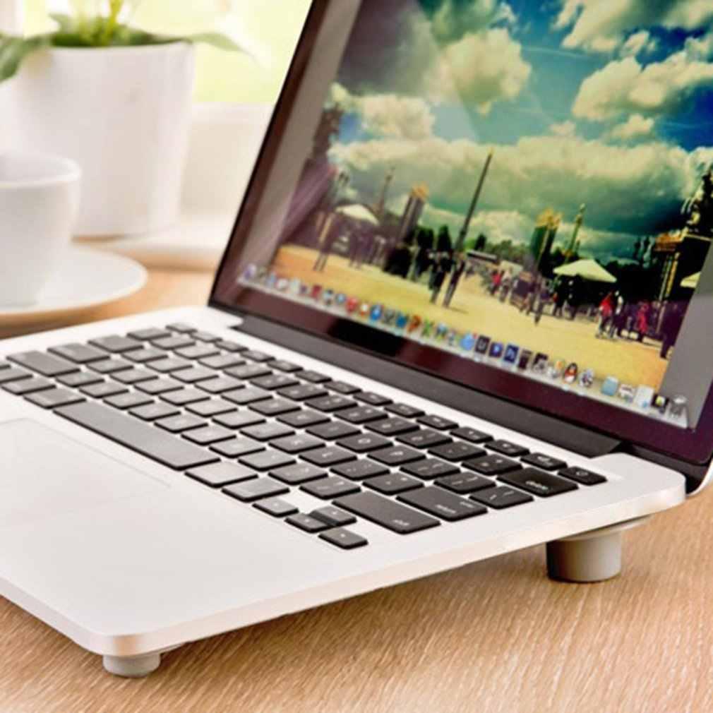 4Pcs Skidproof Notebook Antislip Cooling Laptop Bal Cool Voeten Been Stand Pad