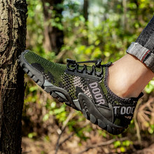 Men Non-slip Trekking Hiking Shoes Wear-resistant Climbing Sports Sneakers Outdoor Quick-Dry Beach Upstream Aqua Shoes