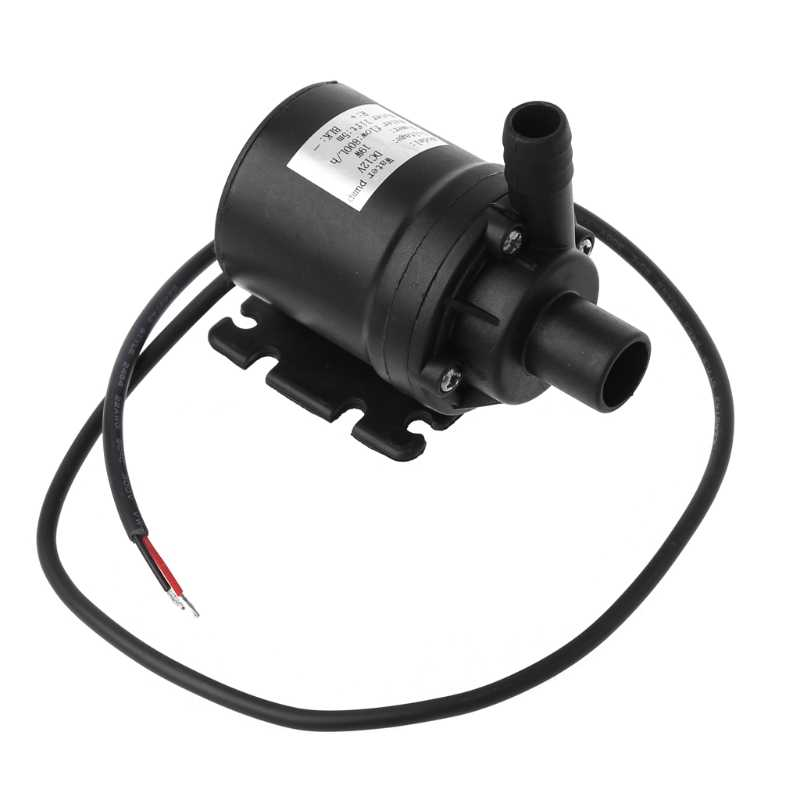 800L/H 5 M DC 12V Solar Brushless Motor Sirkulasi Air Submersible Pompa Air Drop Kapal Dukungan