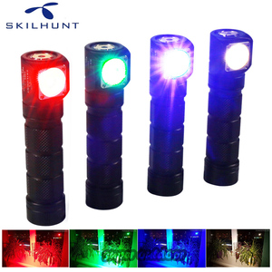 Image 2 - Skilhunt H03C RC Red/Green/Blue/White Multi colors LED Headlamp Flashlight