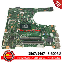 FOR DELL Inspiron 15 3567 3467 Laptop motherboard With SR2UW I3 6006U 15341 1 91N85 mainboard CN 0NP4RY 0NP4RY NP4RY