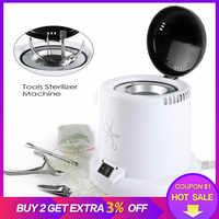 Esterilizador para uñas arte esterilizador de alta temperatura caja de herramientas de uñas caja de desinfección esterilizador de uñas bolas de vidrio herramientas de manicura