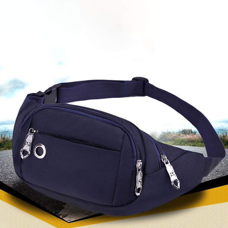 Men And Women Oxford Pockets Casual Outdoor Cashier Running Bags Waterproof Close-fitting Comfort Waist Packs Fashion Sports Bag