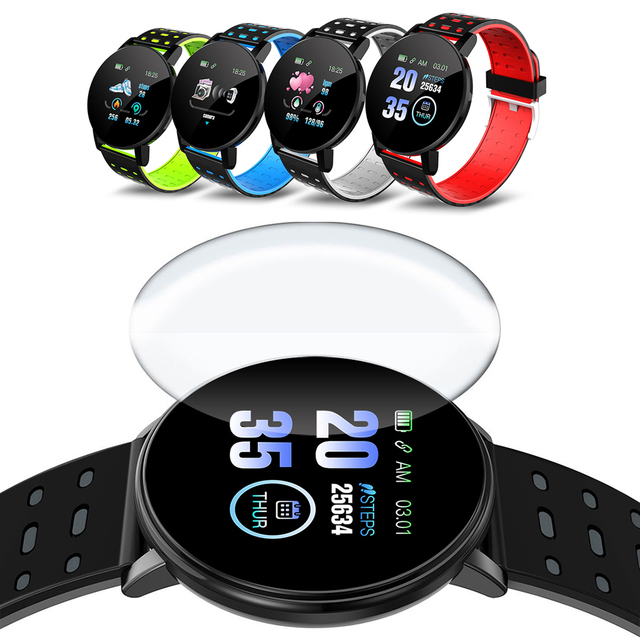 Smart Band Wristband Women Men Sport Fitness Tracker Watch Bluetooth 4.0 Bracelet for iPhone Android Windows Microsoft System 5