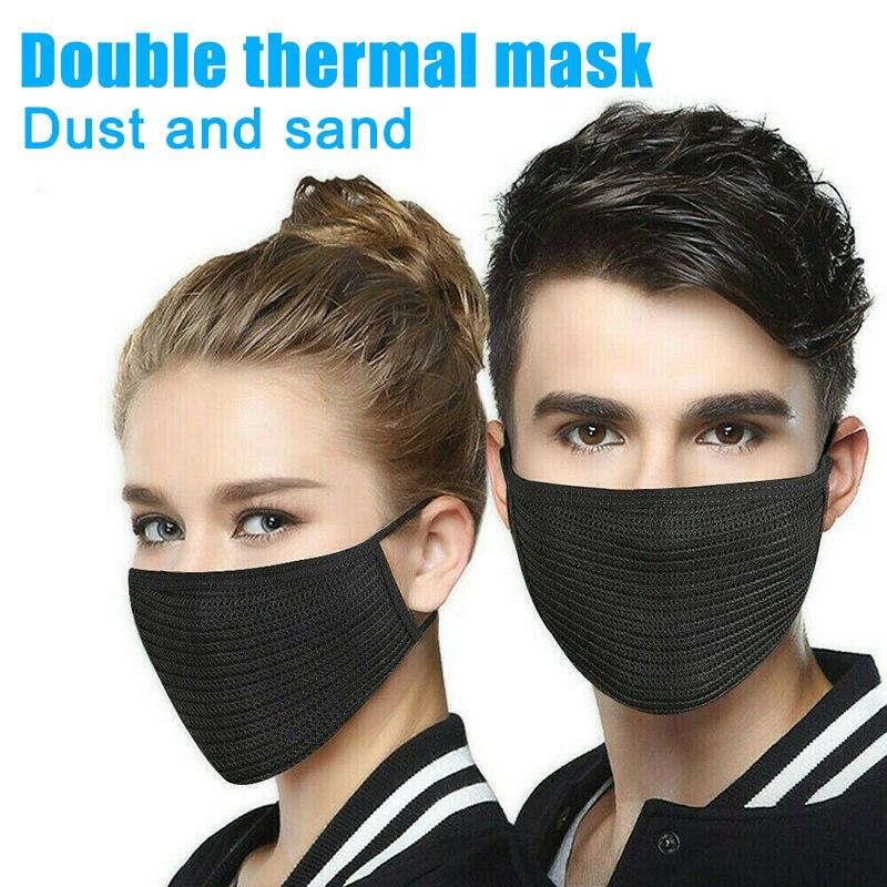1/5/10/50/100 Pcs Unisex Mouth Face Mask Anti-Dust Dustproof For Cycling Outdoor Coronavirus T Shirt  Cubrebocas Con Filtro D88