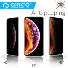 ORICO Anti Spy Anti Peeping Privacy Screen Protector Glass For iphone XR X XS Tempered Glass Privacy Protection(China)
