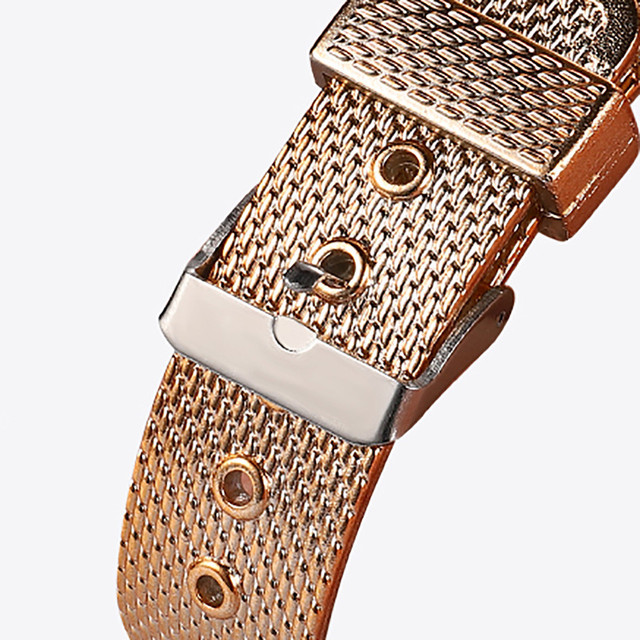 Stainless Steel Strap Watches For Women Luxury 2020 Rose Gold Dial Quartz Wrist Watch For Ladies Bracelet Reloj Mujer Relogio 6