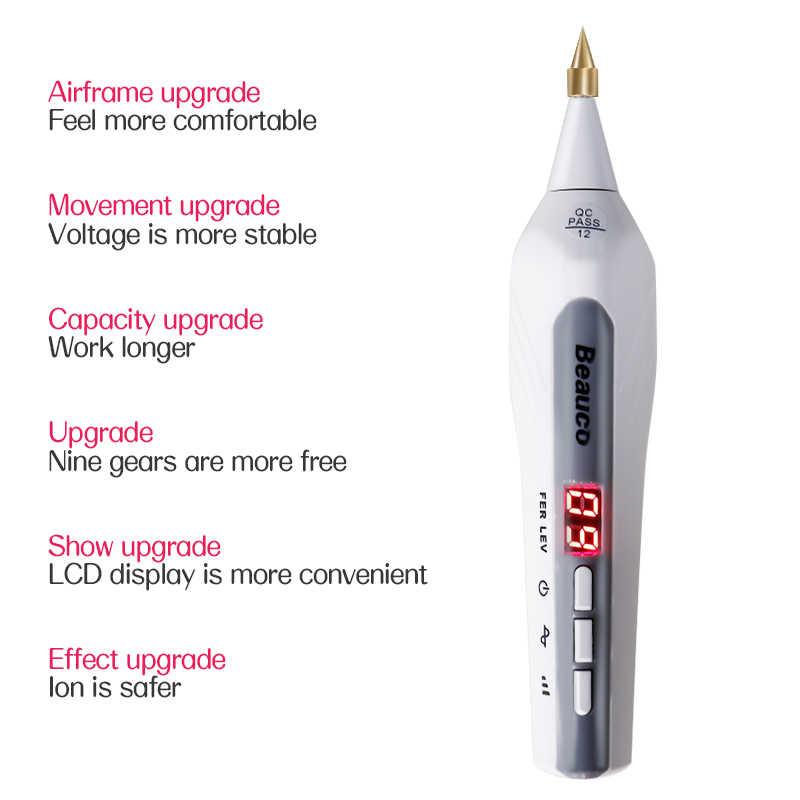 Bolígrafo con agujas para retirar manchas, 3 uds., para bolígrafo de Plasma láser, belleza Facial, eliminador de manchas en la piel, topos, lápiz de eliminación de tatuajes, accesorios