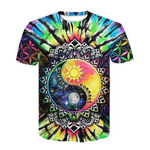 Men clothes 2020 Yin Yang Eight Diagrams Array 3D printing t-shirts for men summer short sleeve funny t shirt tee shirt homme(China)