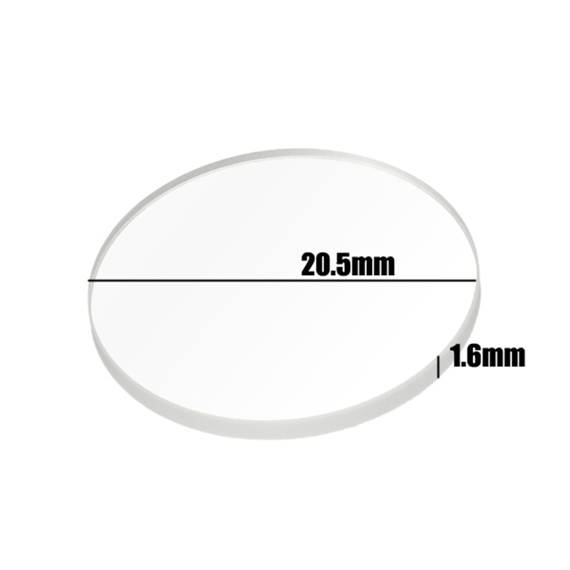 20.5mm X 1.6mm Ar-coated Glass Lens For Convoy S2/S2+/S3/S6/S8 Flashlight Accessories For Camping Torch Lantern Lamps Portable