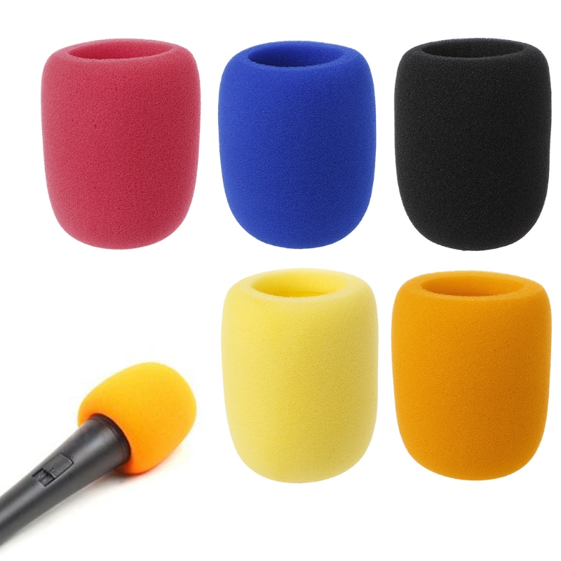 Soft Thicken Microphone Foam Mic Cover Sponge Cap Studio Protective Grill Shield