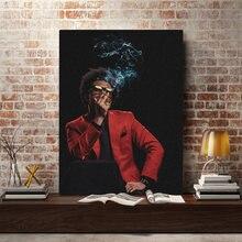 Плакат weeknd картина настенное искусство холст для гостиной