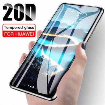 Перейти на Алиэкспресс и купить Новая мода 20D Защитное стекло для Vivo V11i Y91C Y5 Y17 Y11 Y12 X21 X23 S1 X27 Pro протектор Закаленное стекло экрана полное покрытие