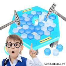 Ice Breaking Save The Penguin Family Fun Game Funny Table Game Interactive Entertainment Toy Children Gift(China)