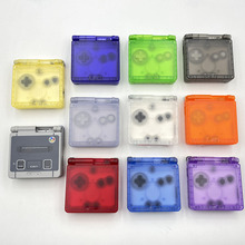 Cool Clear For GBA SP Replacement Housing Shell Cover For Game Boy Advance SP