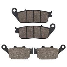 Motorcycle Front Rear brake pads for Honda CB 500F CB500F CB500FA 13-14 CB 500X CB500X 13-14 CBR 500R CBR500R CBR500RA 2013 2014 стоимость